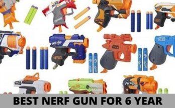 best nerf Gun for 6 year old