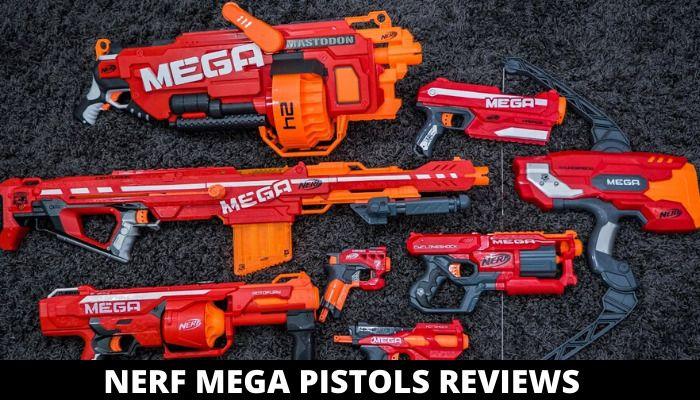 Nerf Mega Pistols