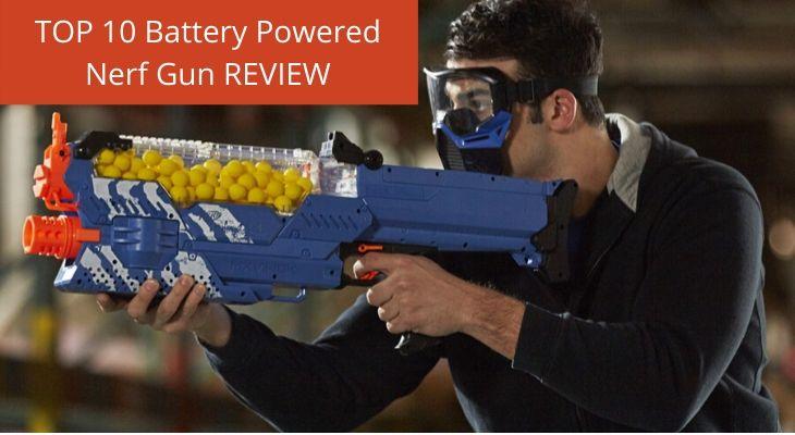 Battery Powered Nerf Gun