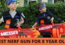 best nerf gun for 8 year old